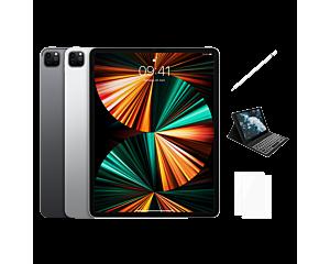 """Apple iPad Pro 5 (12,9"""") Wi-Fi + Apple Pencil 2 + Schutzhülle (Tastatur) + Panzerglas - 128 GB / 256 GB / 512 GB / 1 TB / 2 TB"""